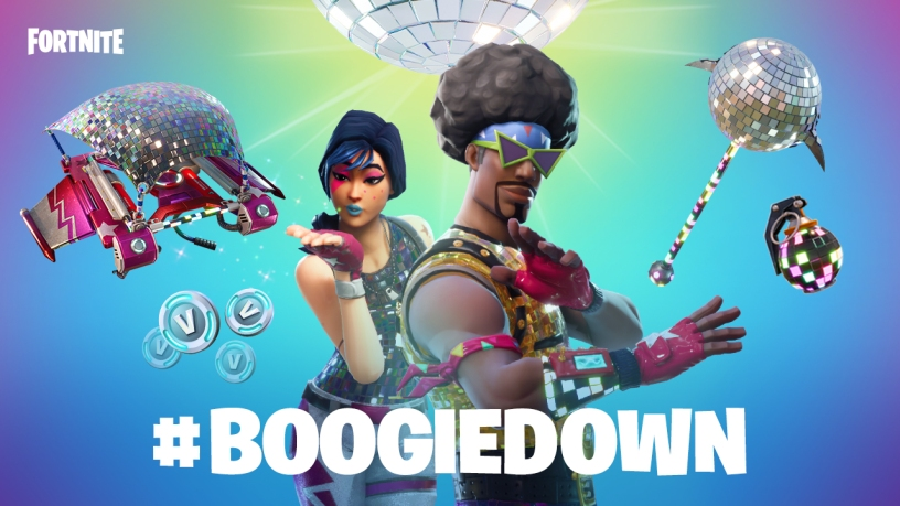 Custom Emotes Fortnite Boogiedown Challenge