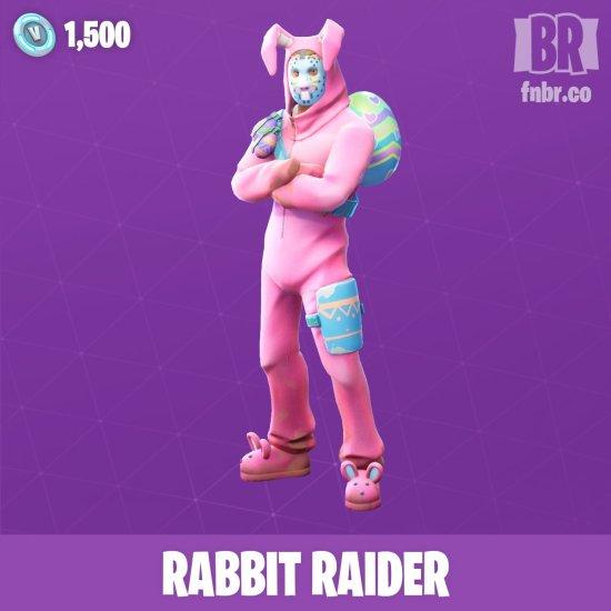 Rabbit Raider Skin Fortnite Easter