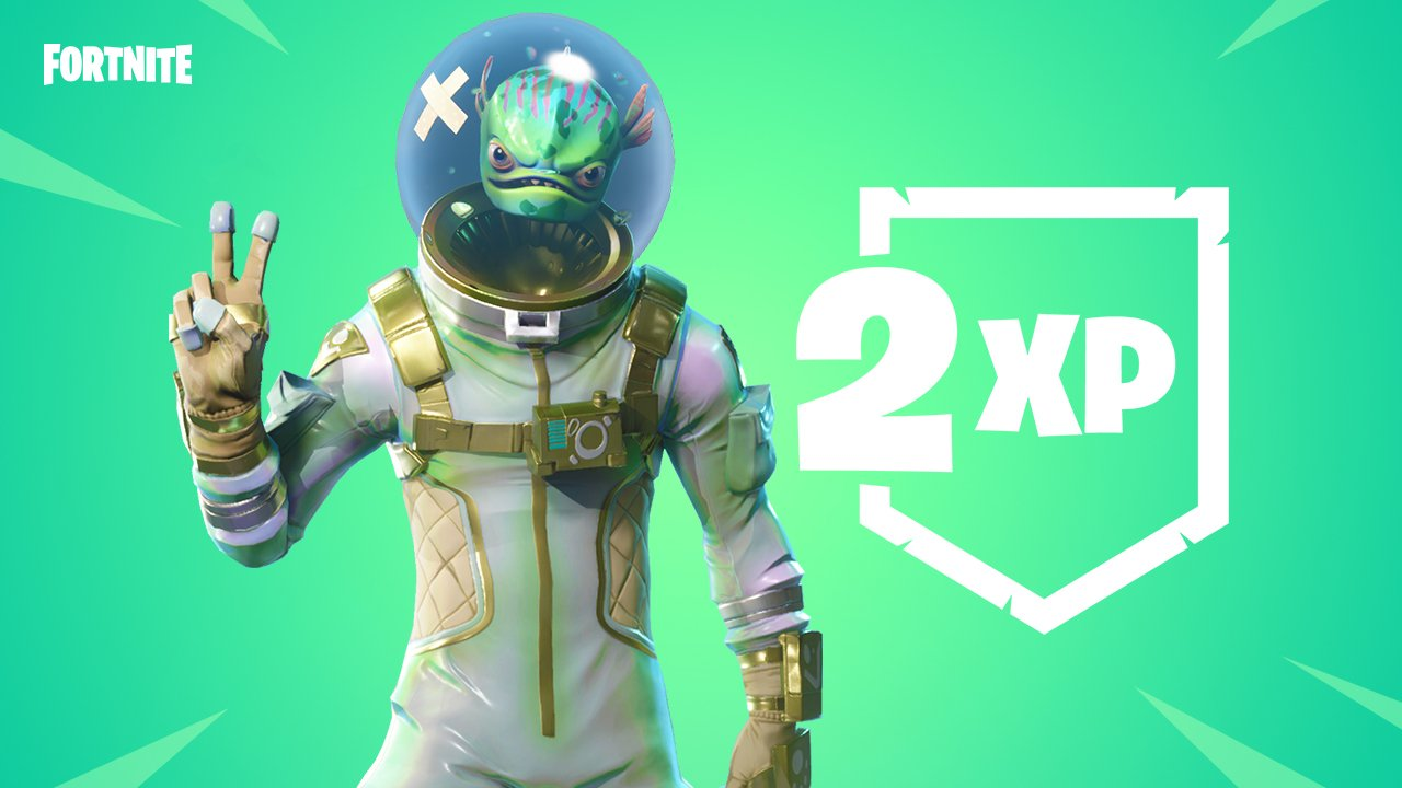 Double XP Weekend for Fortnite Battle Royale