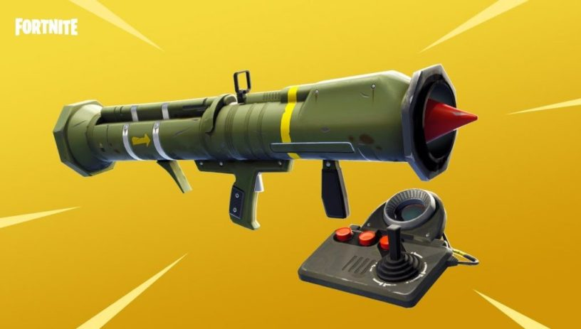 Guided Missile Fortnite Update