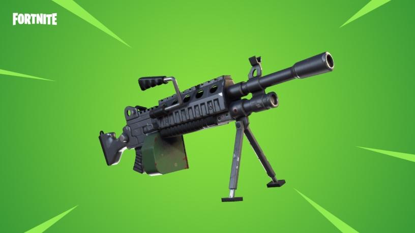 Light Machine Gun Fortnite