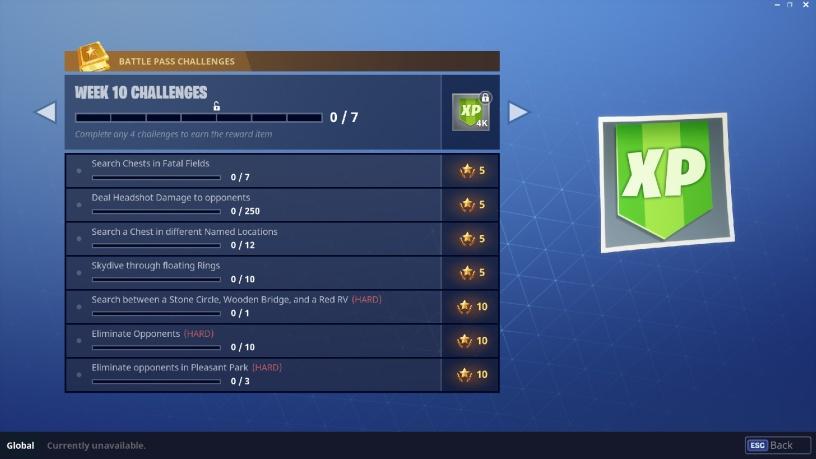 Season 3 Week 10 Challenges Fortnite