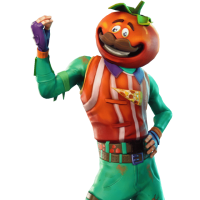 Tomatohead Outfit Fortnite