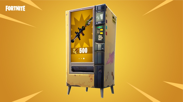 Vending Machines Fortnite v3.4 Content Update