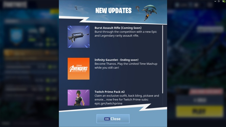 Burst Assault Rifle Legendary Fortnite