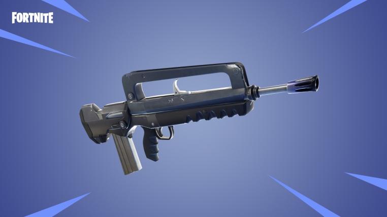 Burst Assault Rifle Fortnite V4.2.0 Update