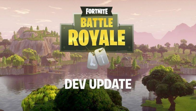 Developer Update 10 Fortnite