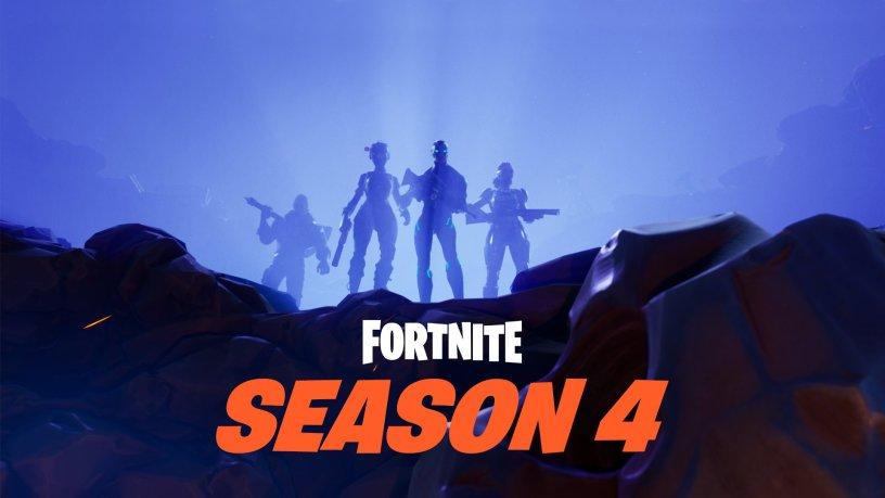 Fortnite Season 4 Update V4.0