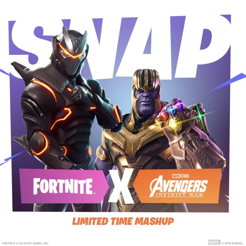 Fortnite Infinity War LTM