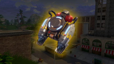 Jetpack Update Fortnite
