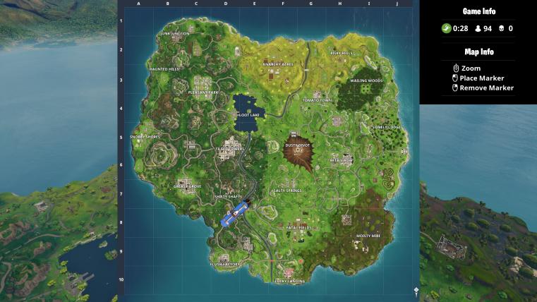 New Fortnite Map Season 4 Risky Reels