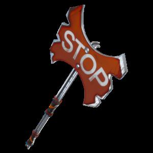 Stop Axe Battle Ax Fortnite