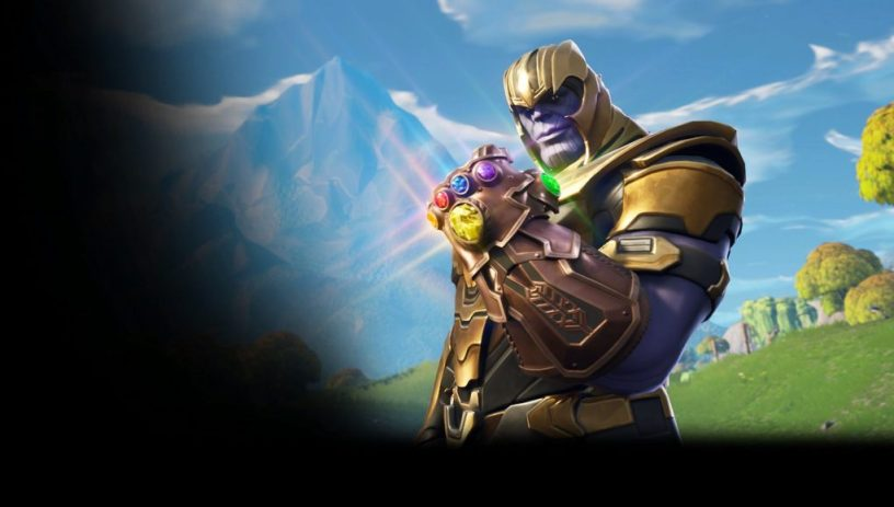 V4.1.0 Update Fortnite Avengers Infinity Gauntlet Mashup