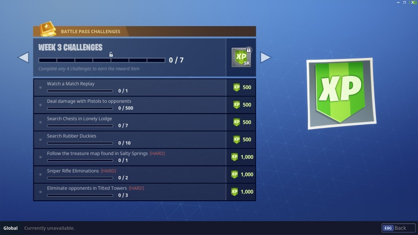 Season 4 Week 3 Challenges Fortnite